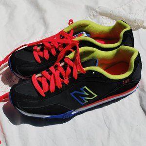 New Balance 442 Black/Neon Sneaker 7M